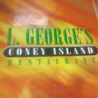 Photo taken at L. George's Coney Island by Tulise W. on 3/4/2014