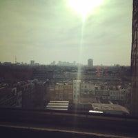 Photo taken at Volkskrantgebouw by Wiebe G. on 3/29/2014