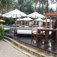 Photo taken at Nikki Beach Resort and Beach Club Koh Samui by Prem C. on 12/14/2012