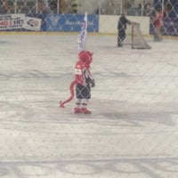 Photo taken at Ice Arena Wales by Stan D. on 10/28/2012