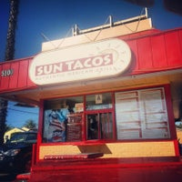 Photo taken at Sun Tacos by JMS on 3/15/2014