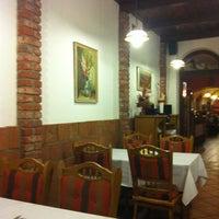 Photo taken at Restaurace U Bílého koníčka by Alexandr on 3/29/2013