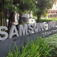 Photo taken at Samsung Hub by HIROFUMI E. on 4/15/2014