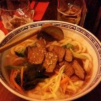Das Foto wurde bei Warmi Nudel Bar von Fernando G. am 12/3/2014 aufgenommen