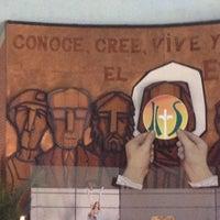 Photo taken at Iglesia Maria Auxiladora by Liriuska G. on 3/29/2013