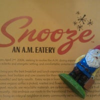 Photo taken at Snooze by Stacia R. on 7/20/2013