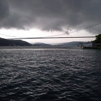 Photo taken at Emirgan Sahili by Burak İ. on 6/30/2013