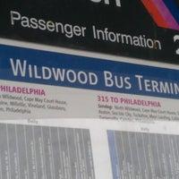 Photo taken at Wildwood bus terminal by Danielle G. on 1/1/2013