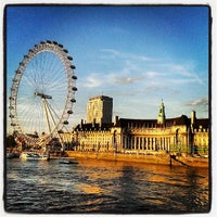 Photo taken at The London Eye by Hugo N. on 6/17/2013
