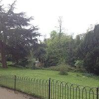 Photo taken at Ravenscourt Park by Diana on 5/5/2013