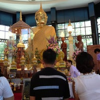 Photo taken at Wat Sangkhathan by Phubodin K. on 7/13/2013
