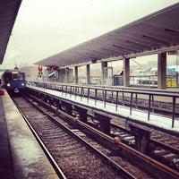 Photo taken at metro Vykhino by Полина on 1/29/2013