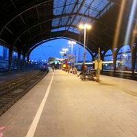 Photo taken at Hagen Hauptbahnhof by HerrEsharif .. on 4/8/2013