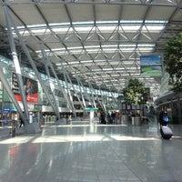 Photo taken at Dusseldorf Airport (DUS) by HerrEsharif .. on 4/20/2013