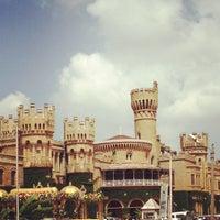 Photo taken at Bangalore Palace by Deepak M. on 11/4/2012