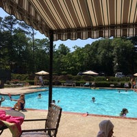 Photo taken at Old Paper Mill Pool by Brad on 5/30/2014