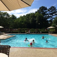 Photo taken at Old Paper Mill Pool by Brad on 6/2/2014