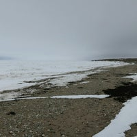 Photo taken at Hudson Bay Beach by Andrey K. on 5/4/2014