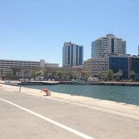 Photo taken at İzmir Limanı by Emrah on 7/4/2013