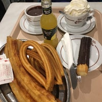 Photo taken at Las Farolas Churreria Chocolateria by David L. on 12/8/2017