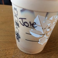 Photo taken at Starbucks by Joel W. on 1/14/2014