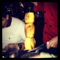 Photo taken at Brasa Brazilian Steakhouse by Natallia A. on 11/3/2012