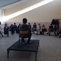 Photo taken at Güzel Sanatlar lisesi by Rıdvan KUDAY on 1/15/2014