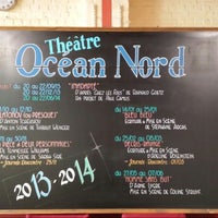 Photo taken at Theâtre Océan Nord by Nathalie F. on 8/21/2013