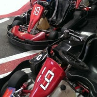 Photo taken at Fórmula Karting Granada by Jordi S. on 2/15/2014