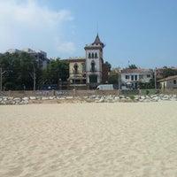 Foto tomada en Platja del Masnou por David T. el 7/17/2013