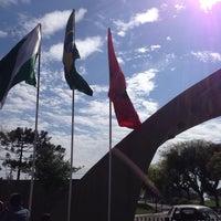 Photo taken at Centro de Treinamento do Caju by Eduardo C. on 10/12/2013