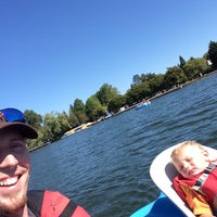 Photo taken at Green Lake Boathouse by Captain B. on 9/10/2015