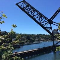 Photo taken at Salmon Bay Bridge by Captain B. on 7/11/2018