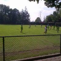 Photo taken at Pumitas C.U., Futbol A.C. by Pau Q. on 6/1/2013