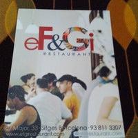 Photo taken at Ef&Gi by Eva T. on 9/26/2012