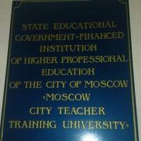 2/2/2013 tarihinde shareddataziyaretçi tarafından Институт математики и информатики (ИМИ МГПУ)'de çekilen fotoğraf