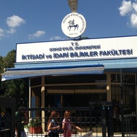 Photo taken at DEÜ Faculty of Economics and Administrative Sciences by Burcu isil O. on 6/6/2013