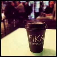 Photo taken at FIKA Espresso Bar by Joshua W. on 10/16/2012