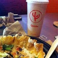 Photo taken at QDOBA Mexican Eats by Rami Z. on 2/9/2013