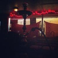 Photo taken at Casablanca Hookah Lounge by Aaron R. on 5/30/2013