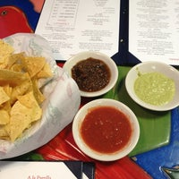 Photo taken at Patron Mexican Grill by Alfonso V. on 2/23/2013