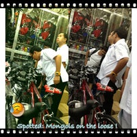 Photo taken at Bicycle World Buendia by AL C. on 1/24/2013