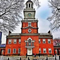 Photo taken at Independence Hall by Candi R. on 1/30/2013