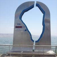 Photo taken at Sea of Galilee - Kinneret (כנרת) by Bernardo on 5/4/2013
