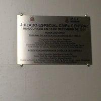 Photo taken at Juizado Especial Cível de Campinas by Luciano Ivan L. on 2/21/2013