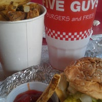 Photo taken at Five Guys by Robin M. on 11/1/2013