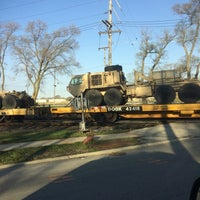 Photo taken at 142nd Railroad Tracks by Tomas💯 P. on 4/26/2014