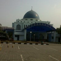 Photo taken at Masjid Baitul Musthafa by Indra S. on 9/28/2012