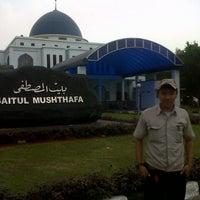 Photo taken at Masjid Baitul Musthafa by Indra S. on 11/9/2012