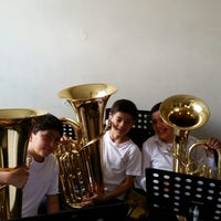 Photo taken at Colegio Salesiano Leon XIII (Primaria) by Lucas F. on 10/5/2014